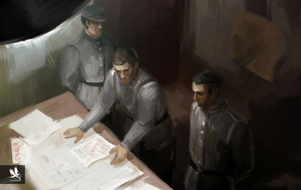 Aardman Studios - 11-11-Memories Retold - Concept Art - Enemy Plans
