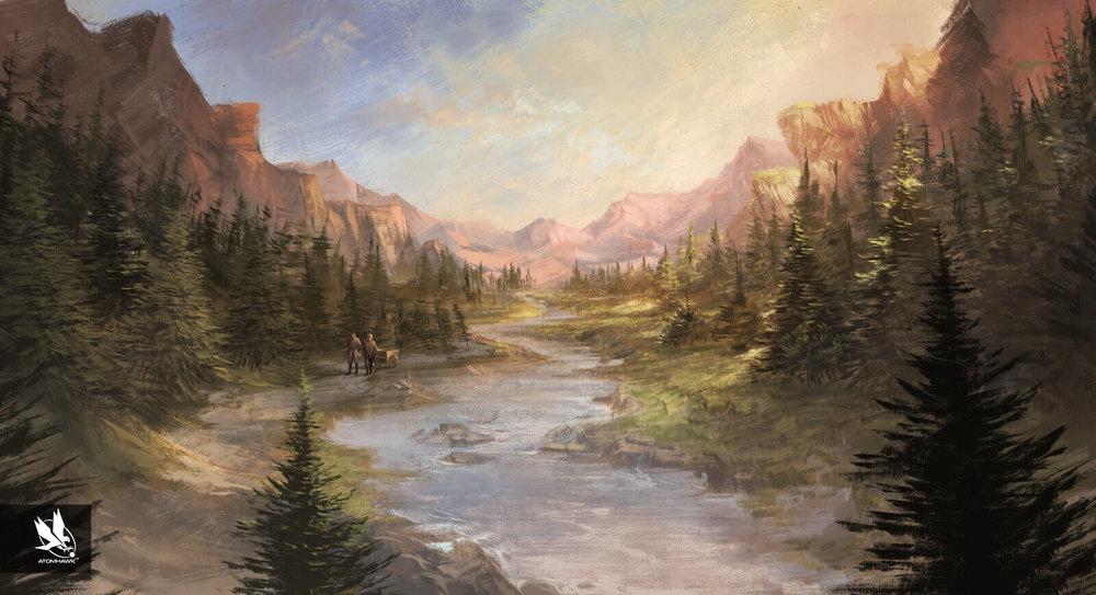 "11-11-Memories Retold - Key moment - ""Mountain Path"""