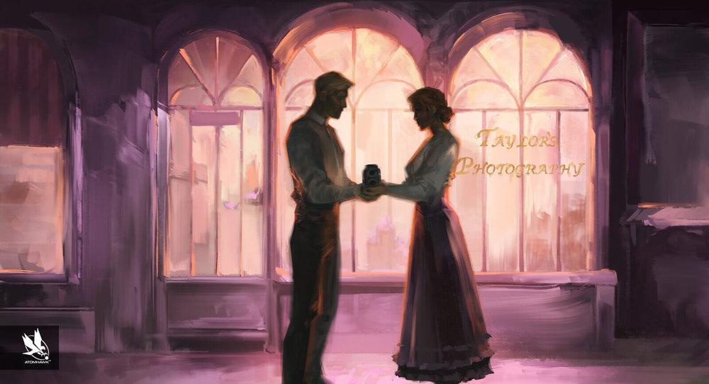 "11-11-Memories Retold - Key moment - ""Harry and Julia"""
