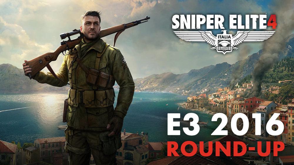 Sniper Elite 4 Project - Marketing Art