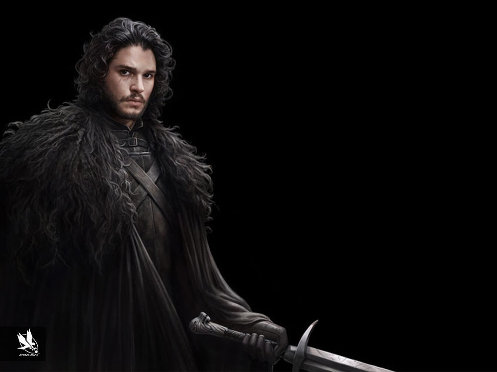 Game Of Thrones Conquest project - Character Design - Jon Snow