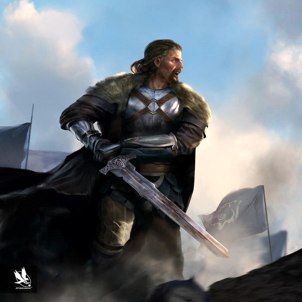 The Elder Scrolls Legends - Concept Art - Cardinal Ulfric