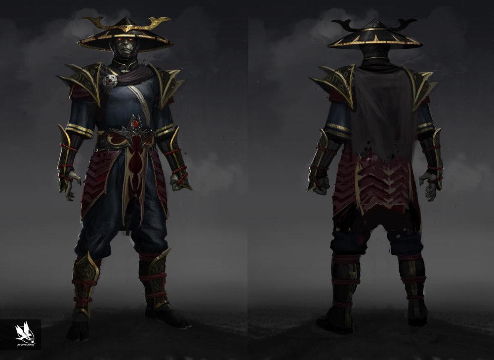 Mortal Kombat X - Character Design - Dark Raiden