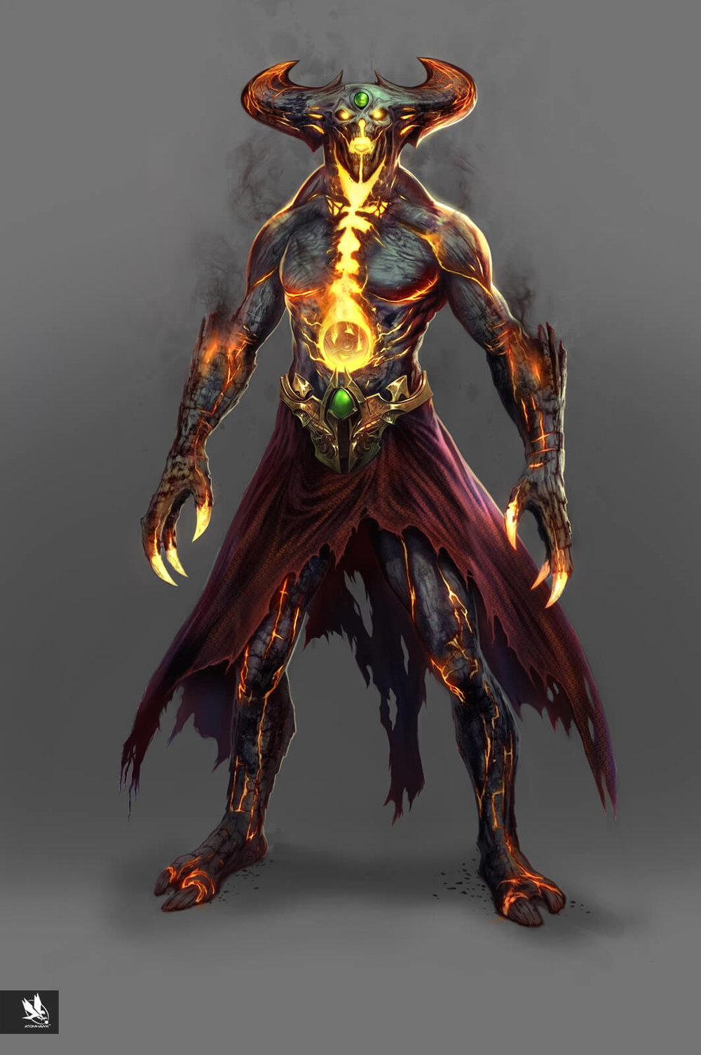 Mortal Kombat X - Character Design - Dark Shinnok