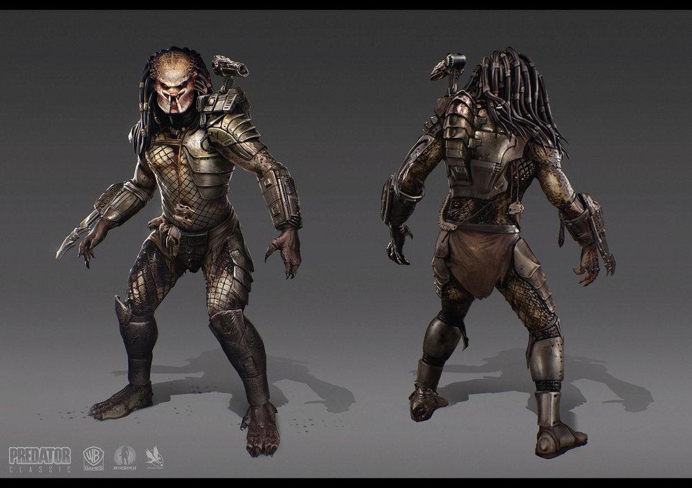 Mortal Kombat X - Character Design - Predator