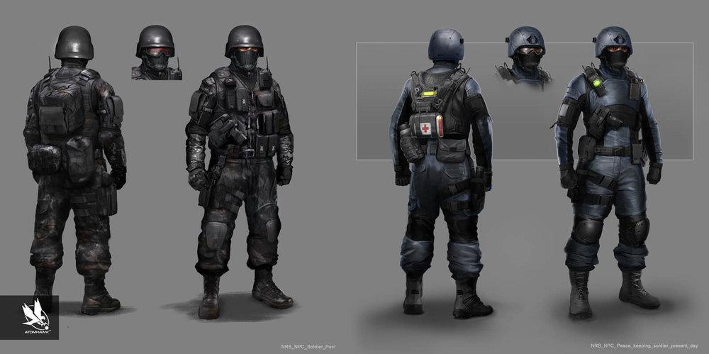 Mortal Kombat X - Character Design - Soldier