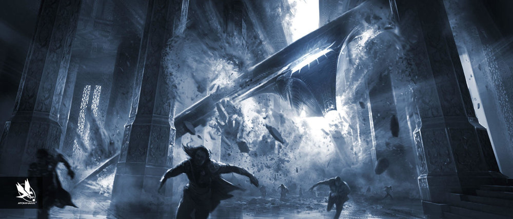 Thor The Dark World - Concept Art - Key Moment - Throne Room