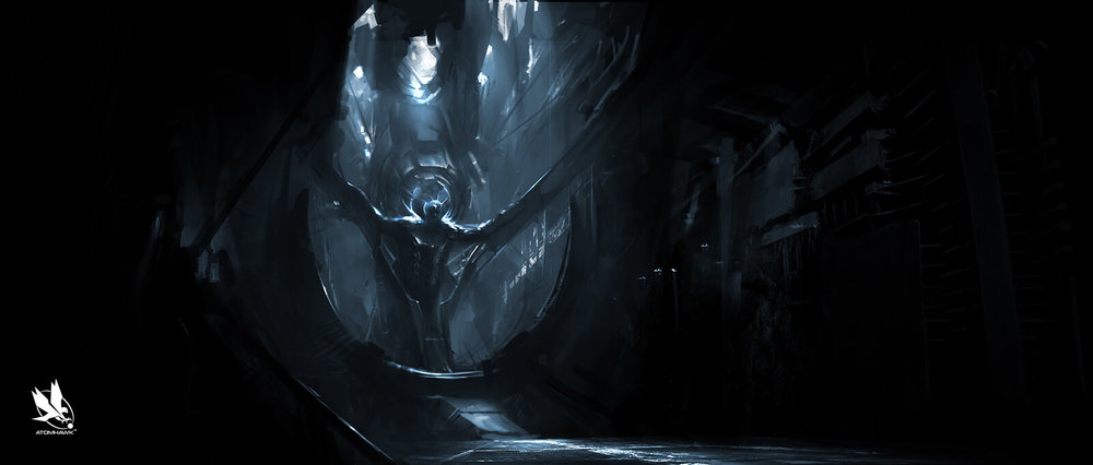 Thor The Dark World - Environment Design - Asgard Svartalheim Interior