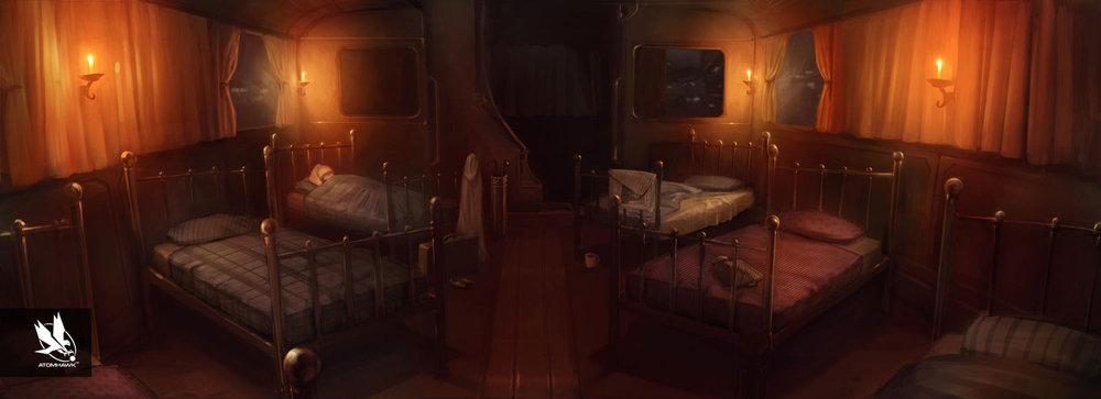 Pottermore - Concept Art - Hogwarts Dormitory