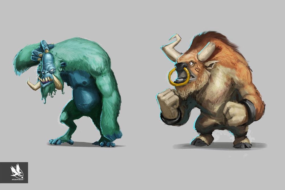Project Spark - Creature Design - Mammals