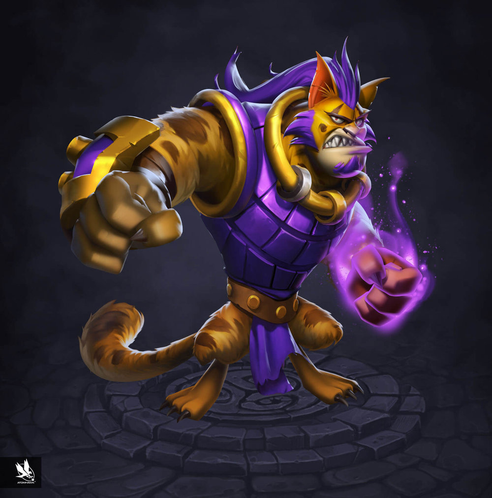 Kabam Spirit Lords project - Character Design - Felis