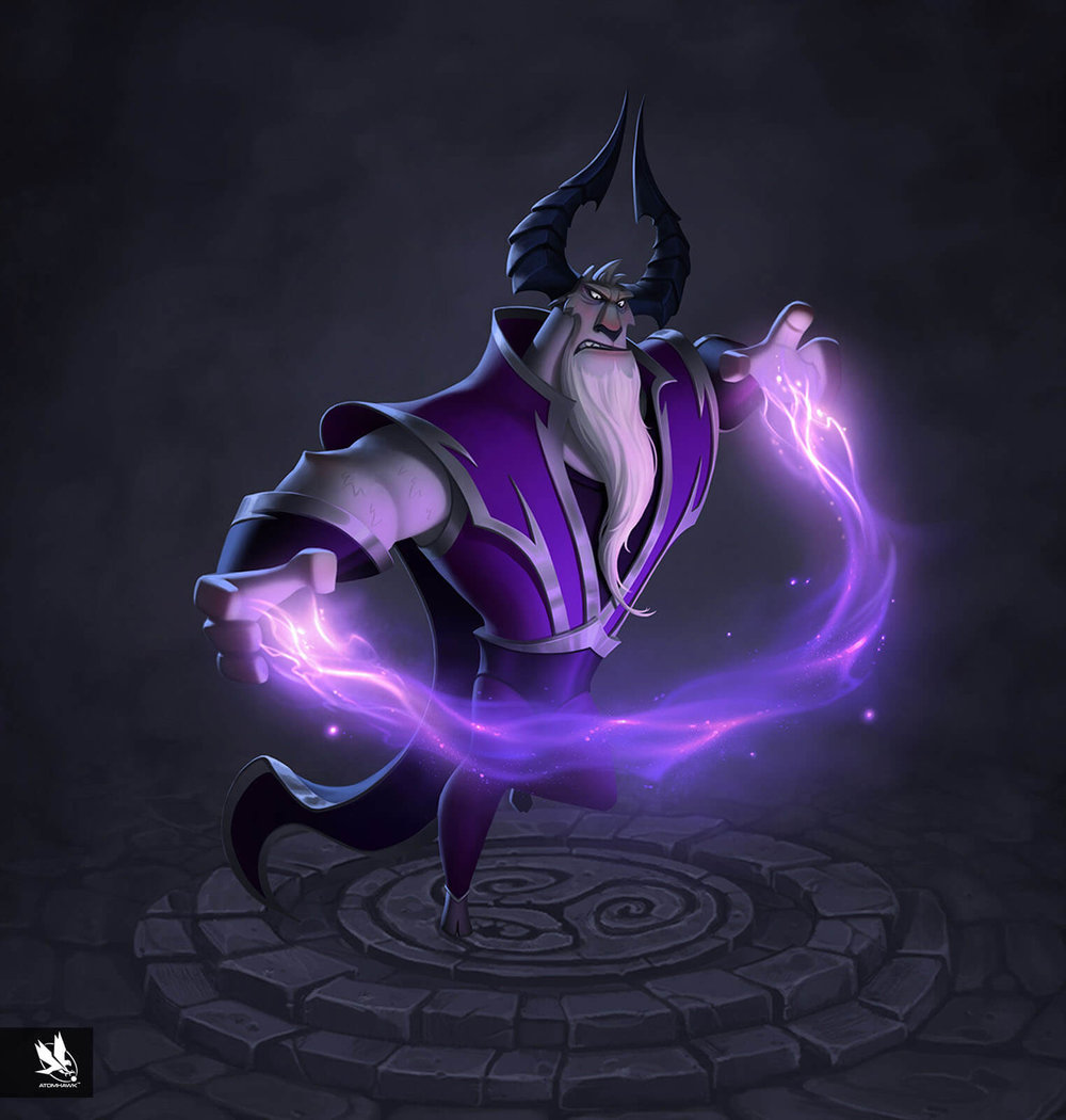 Kabam Spirit Lords project - Character Design - Ramm