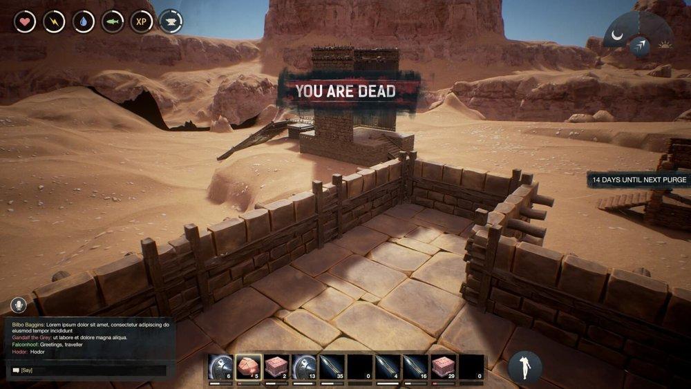 Conan Exiles - UI Design - HUD Notification Design