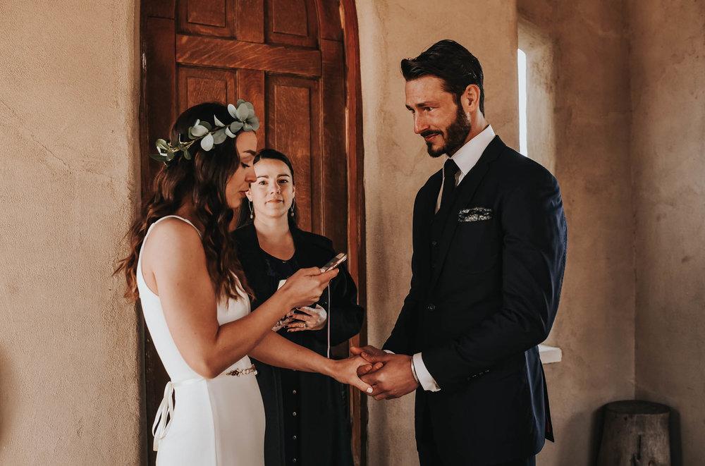 Bohemian Intimate Wedding at Chapel Dulcinea in Austin, Texas.