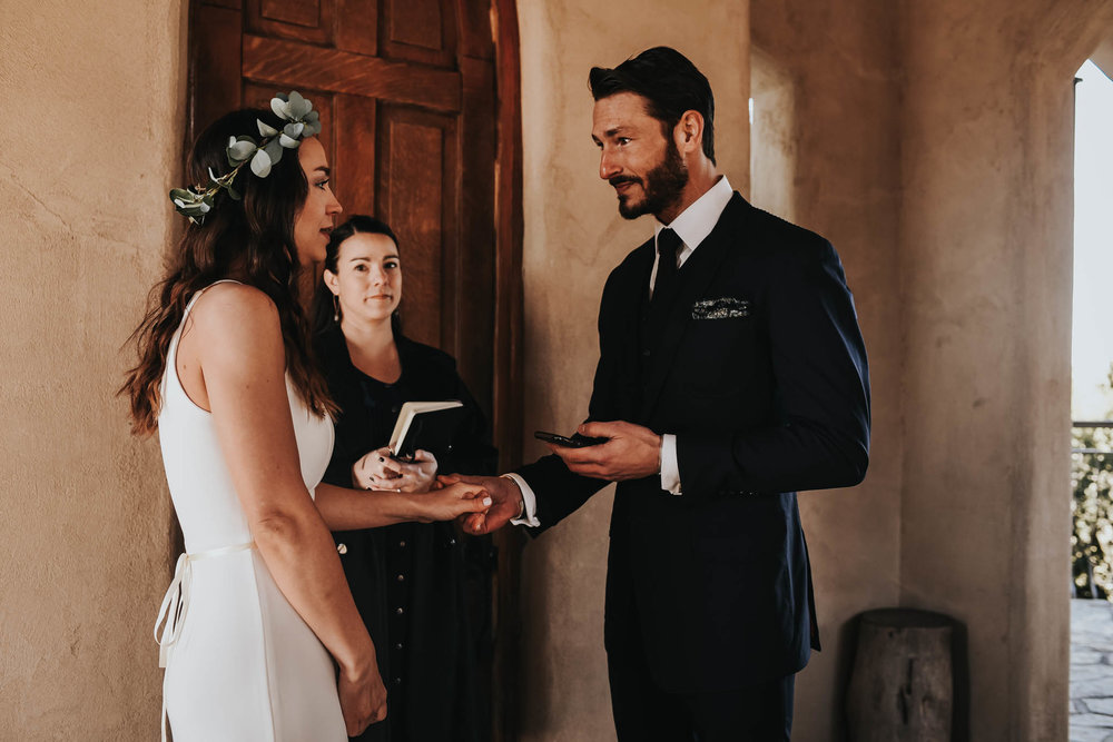 Intimate Ceremony at Chapel Dulcinea