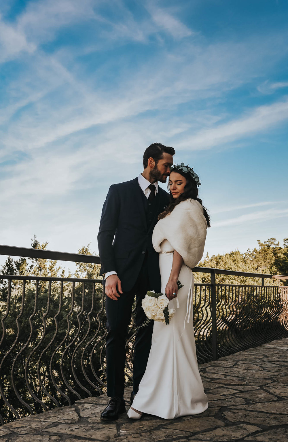 Intimate Wedding Ceremony at Chapel Dulcinea
