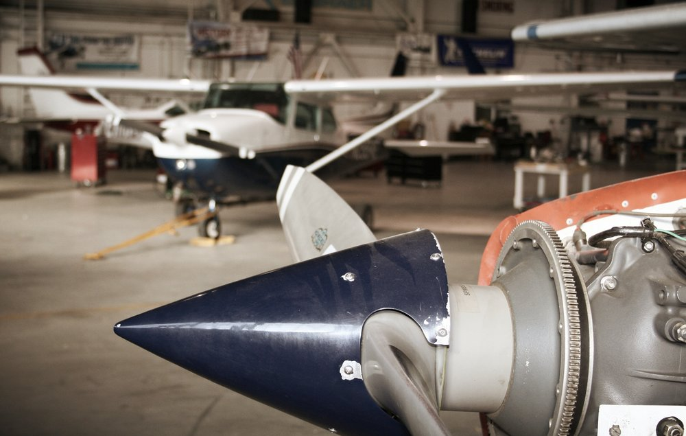 Routine Maintenance - We will service your airplane for your 50-hr oil changes, lease back 100-hour inspections, and FAA mandated annual inspections.