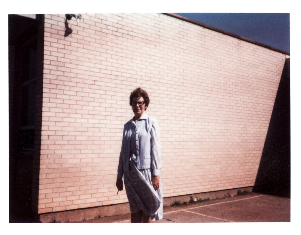 My first photograph taken in May 1979 when I was in the sixth grade with a kodak-E20 instant camera, depicting my elementary school's principle at Claude Huyck, Kansas City, Kansas. Little did I know what I will become back then.