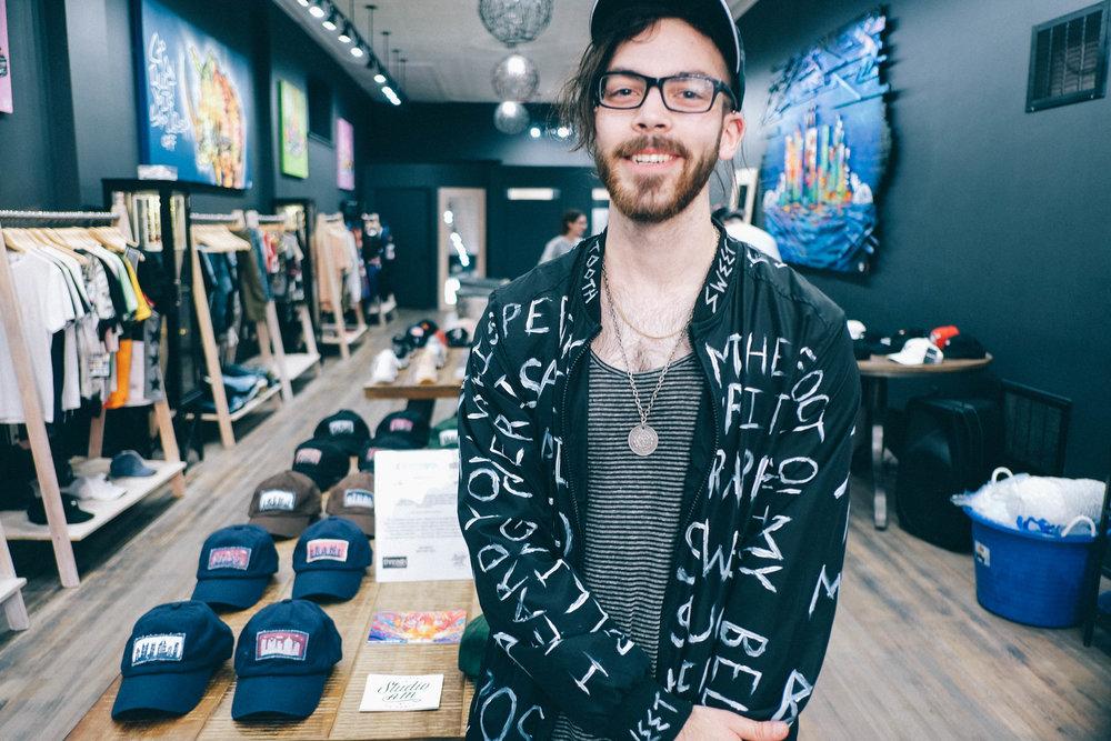 Nick Seyler - This photo from album drop at Threads on Carson. IG: @nickseyler