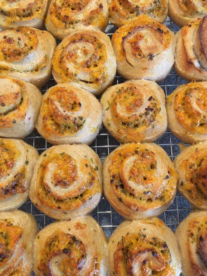 Savory Cheese buns