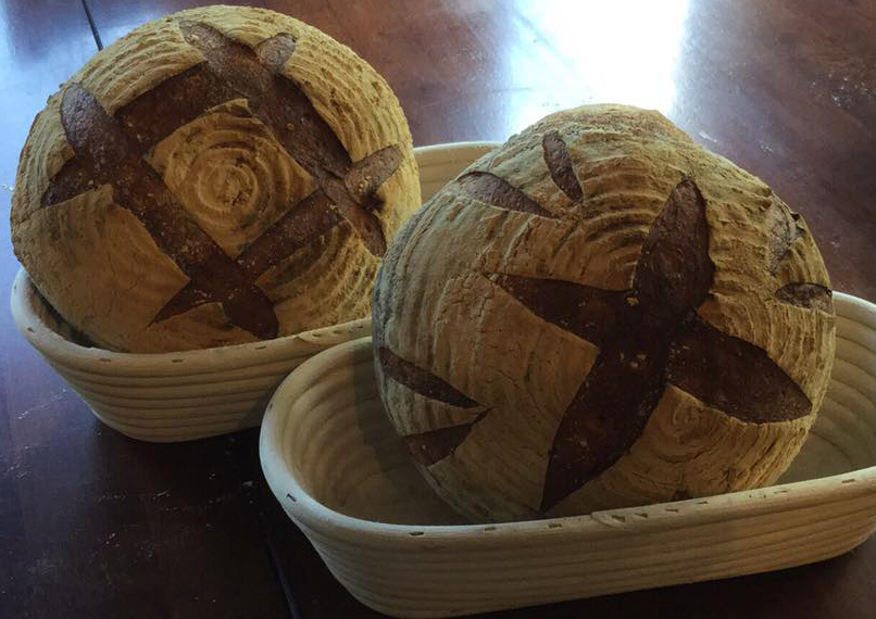 Cobb baked boules