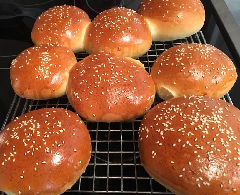 Yeast Hamburger Buns