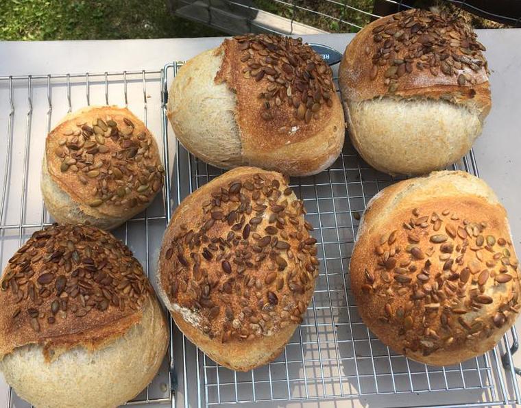 Sunflower Seeded Bread