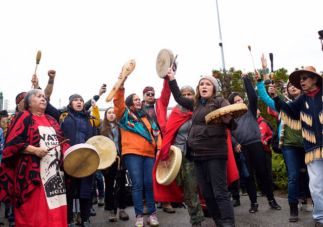 Indigenous rights - If approved, Trans Mountain would violate the rights of Indigenous peoples living along the pipeline & tanker route. Already courts have found that the Canadian government failed its duty to consult impacted Nations.