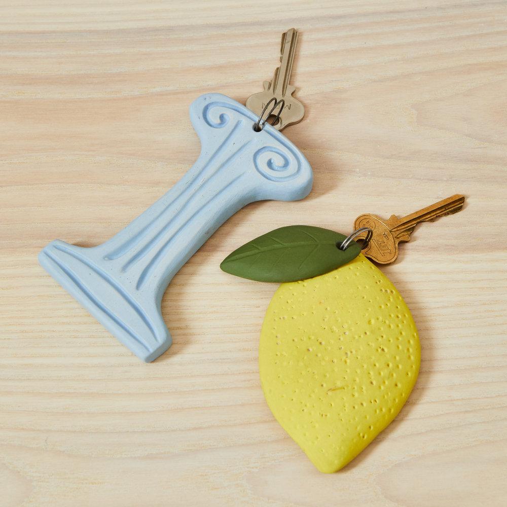 Ceramic Keychains -