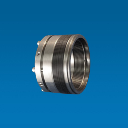 Standard pump seal for mild corrosive and abrasive fluid. Bleaches, Paper stock etc. Welded metal bellows, o-ring secondary seal. No springs.