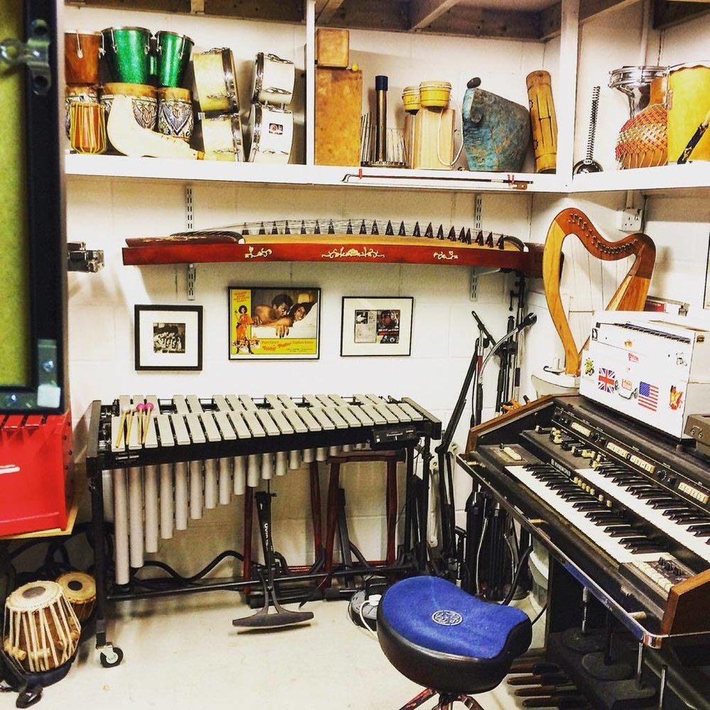Vibraphone is a next level textural sound. A studio without vibes is a studio with no vibes !