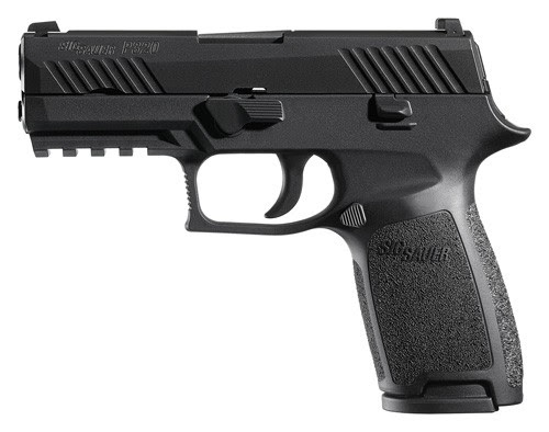 SIG P320 9MM 3.9 CONTRAST SIGHT 17-SHBLACK POLYMER - Value $600