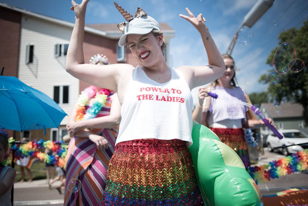 Pride Lady