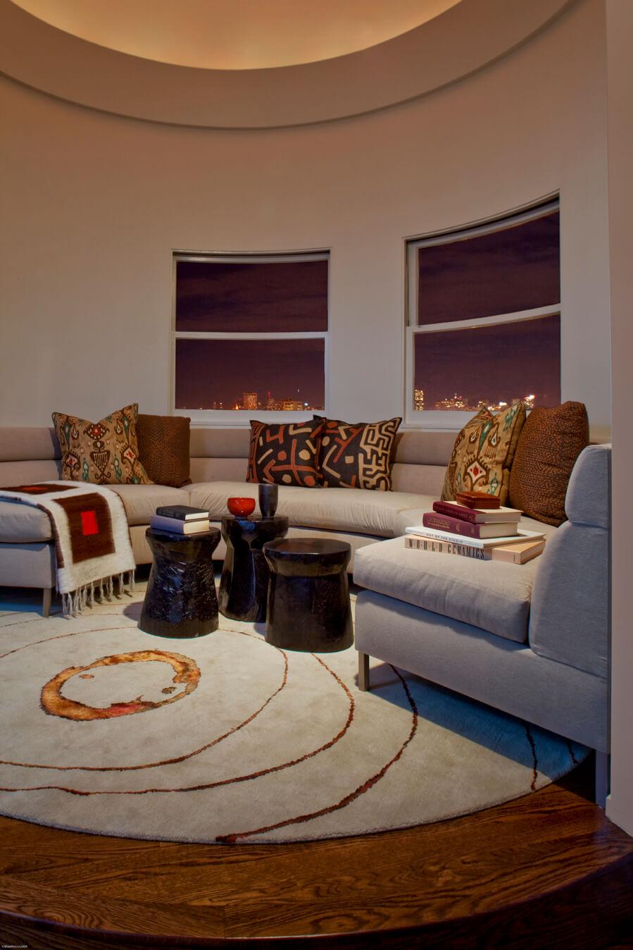 Living Room Eclectic Jennifer Gustafson SF Bay Designer