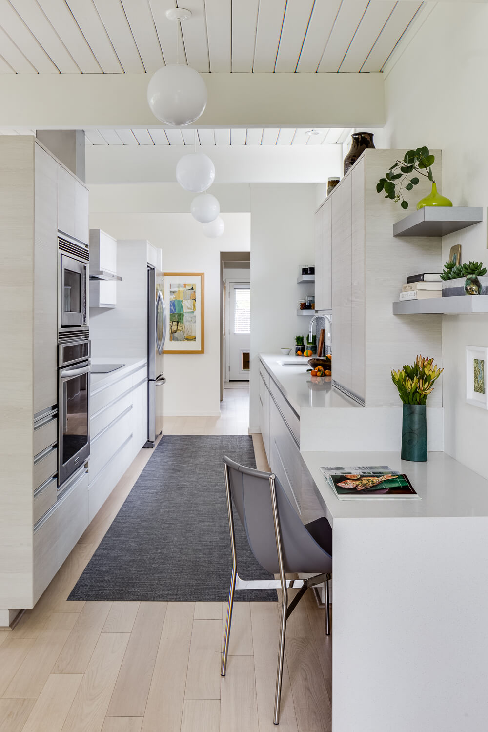 Kitchen White Modern Jennifer Gustafson SF Bay Designer