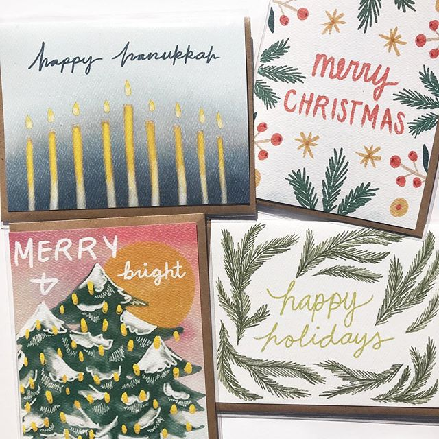 Need last minute cards and presents? Find these beautiful illustrations and much more at the second weekend @mcminnvillemarket on December 21st, 22nd and 23rd from 10-6 @binderyevents. ⠀⠀⠀⠀⠀⠀⠀⠀⠀ #mcminnville #visitmcminnville #craftfair #shoplocal #holidayshopping #makerspace #pdxholiday #shopsmall #traveloregon #locallymade