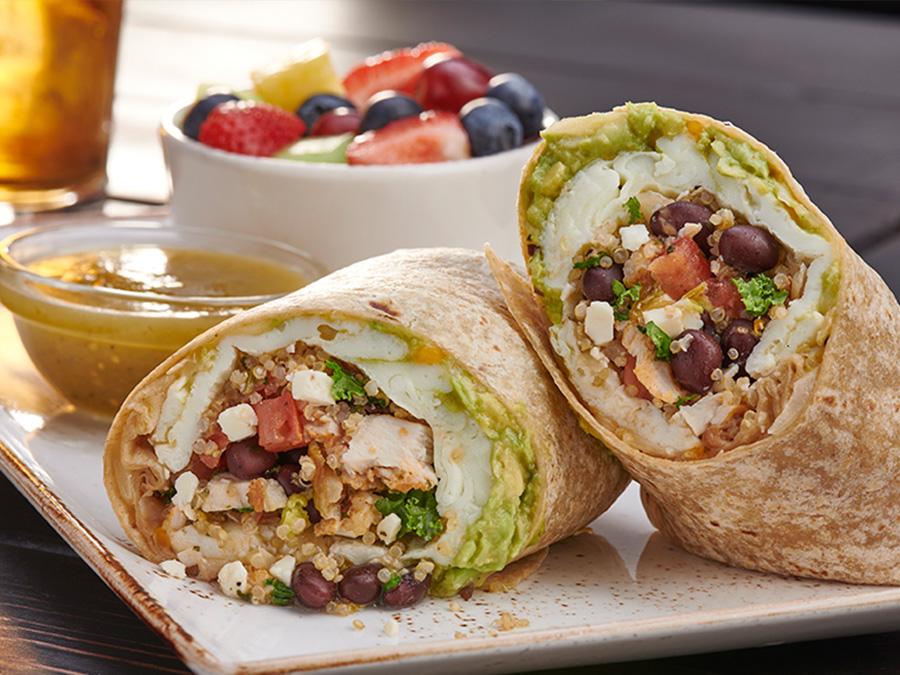 Social Breakfast Burrito