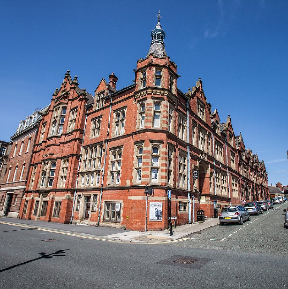 The amazing Old Courts, in Wigan.