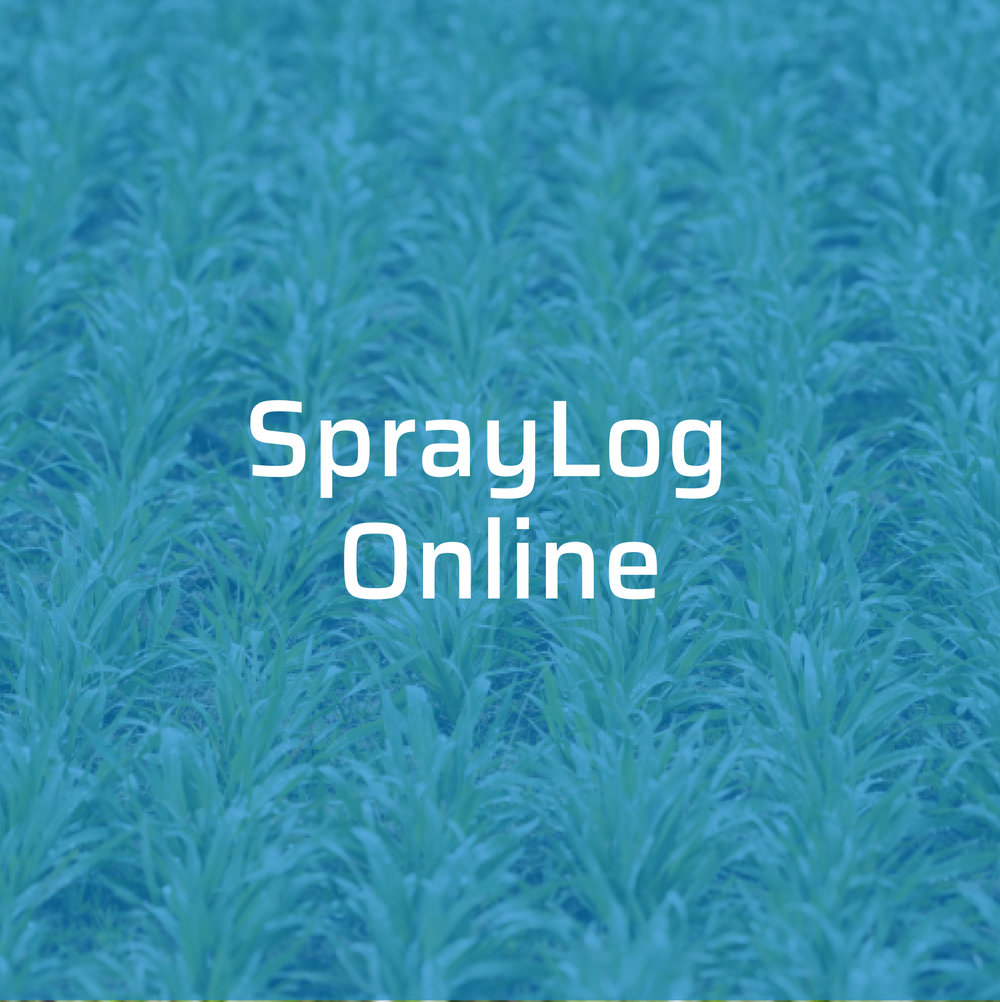 Making the Recording of Agrichemical Spray Applications Easy. -