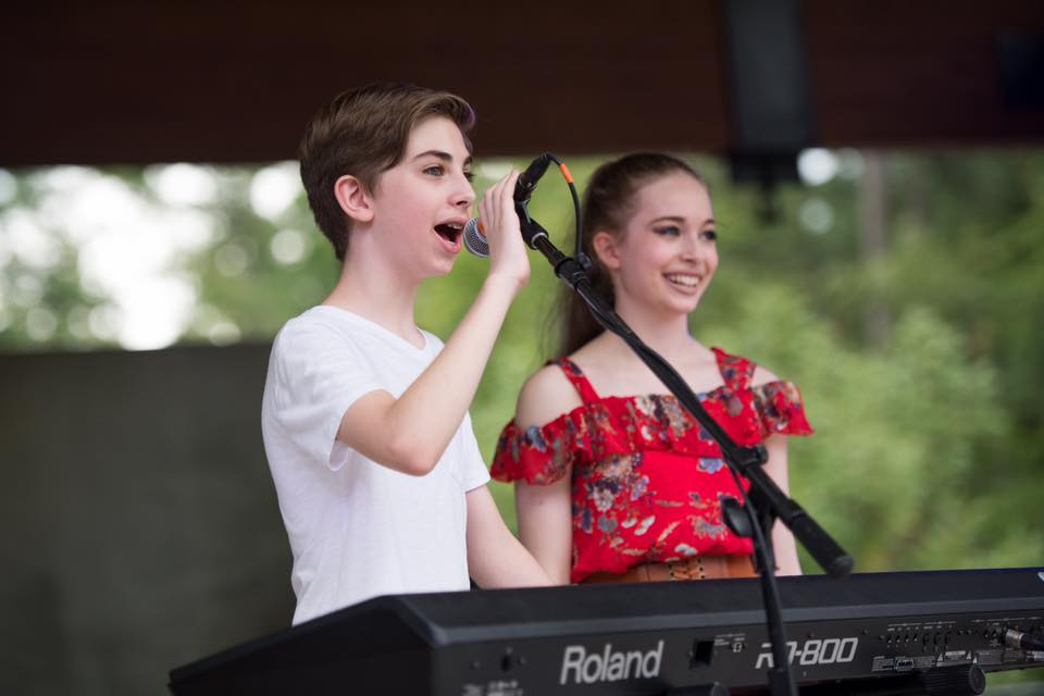 Faith and Harry performing at the Okra Strut Festival in South Carolina| September 2018 | Photo Credit: Sean Rayford