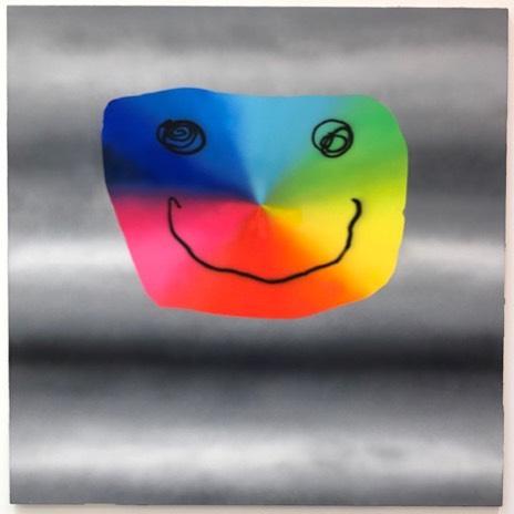 #austinlee #deitch #smileyface #art #wooster street #grandstreet #airbrush #painting #goodvibes #postanalogart