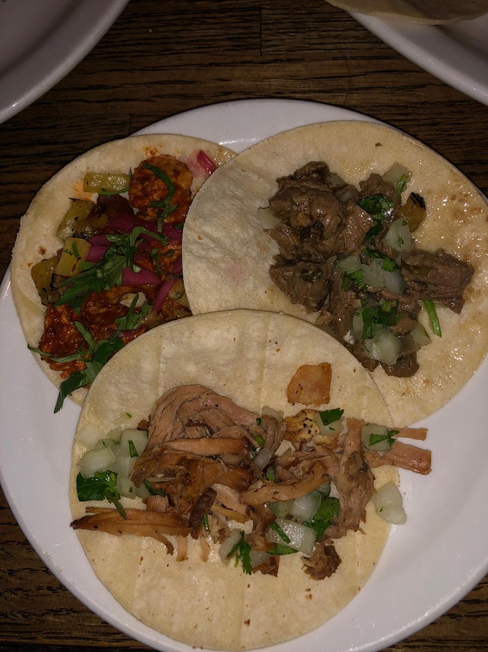 El Camino- Taco Tuesday tacos