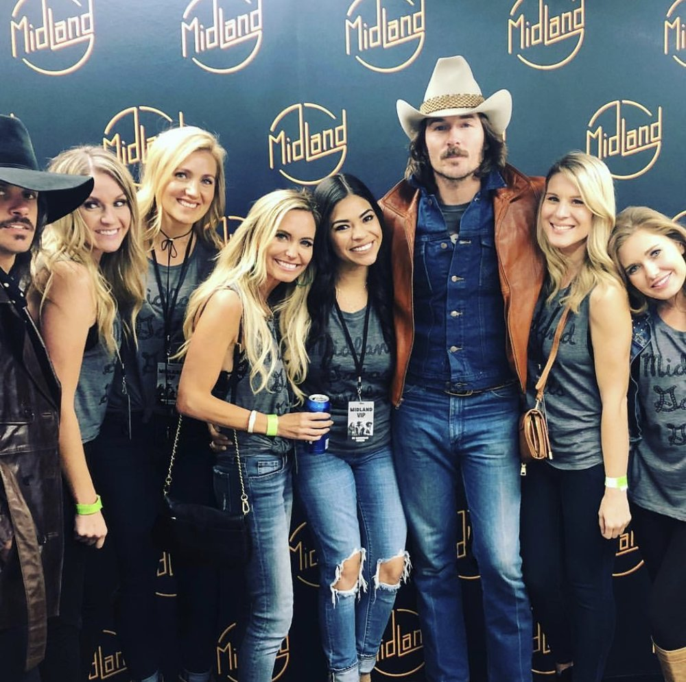 our meet & greet w/ Midland