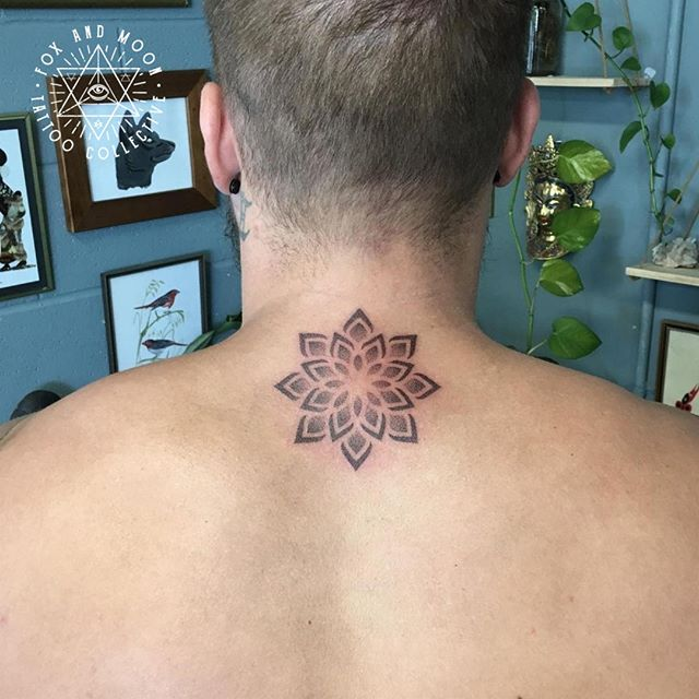 Simple, clean mandala by dotwork lord Jake. Let's chat about your next tattoo idea! -------------------------------------------- Artist: @jakeabstraction Using: @solaristattoocare -------------------------------------------- -Bookings/Enquiries- Phone: 0411 570 360 Email: info@foxandmoontattoo.com.au Visit us: 727 Deception Bay Road, Rothwell -------------------------------------------- www.foxandmoontattoo.com.au -------------------------------------------- #brisbanetattoo #brisbaneartists #brisbane #tattooapprentice #mandalatattoo #dotworktattoo #stippletattoo #foxandmoontattoo #jakeabstraction #sacredgeometry #geometrical #contemporarytattooing  #geometrico #geometricink #beautiful_mandalas #ornimentaltattoo #sacredgeometrytattoos #eternalink @solaristattoocare @eternalink @brisbanetattooart