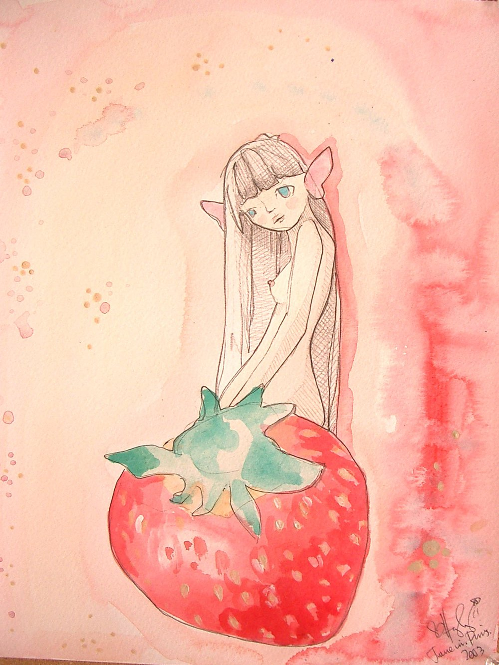 Strawberry Faerie