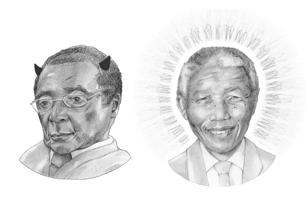 Mugabe & Mandela