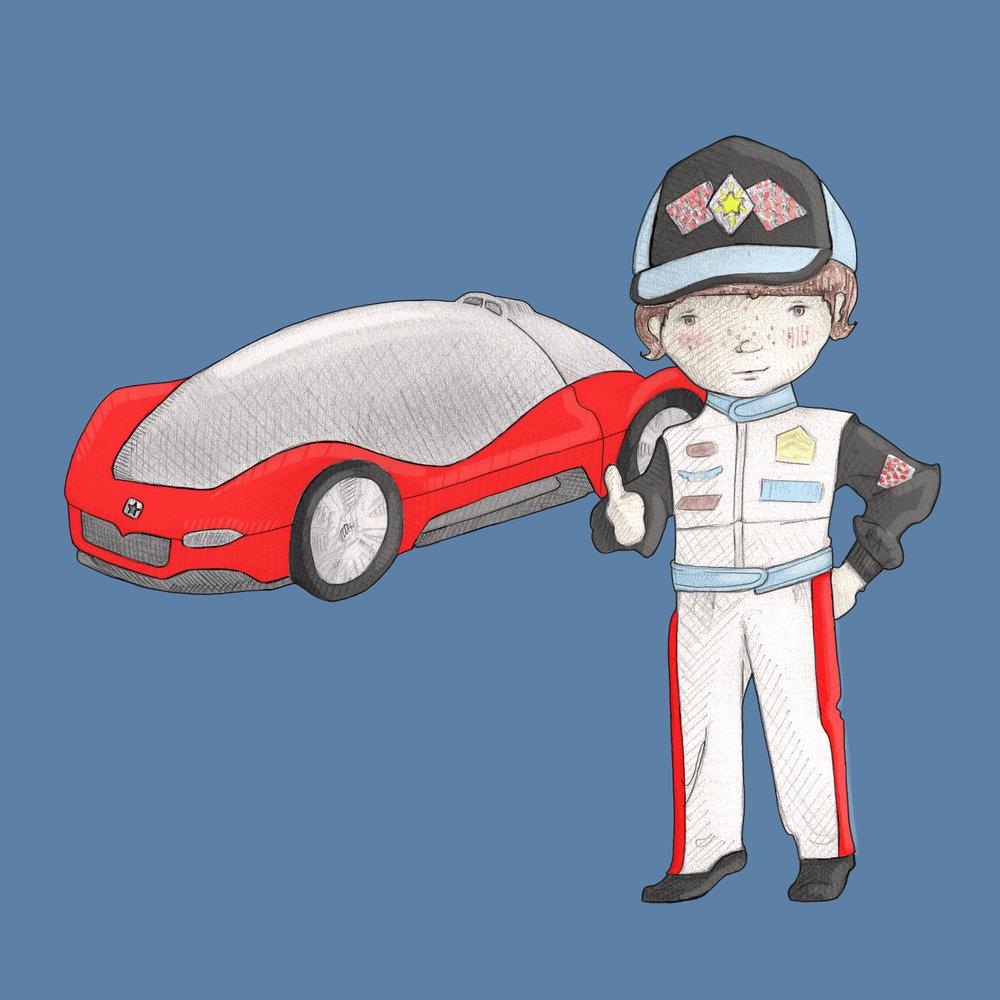 I am a racecar driver