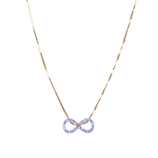 The Opal Infinity Necklace