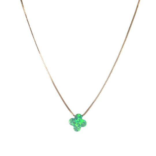The Opal Clover Necklace