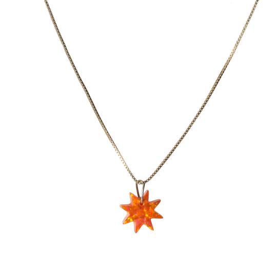 The Opal Sun Necklace
